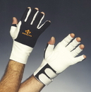 Impacto 485-30 Series Anti-Impact Glove with Wrist Support, 3/4 Finger
