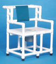 IPU Bariatric Commode Chair W/O Casters          700# Capacity