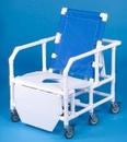 IPU Bariatric Reclining Shower Chair - 650 Lbs Capacity