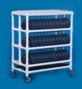 IPU Dome Cart - Holds 72 Dome Lids