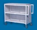 IPU Jumbo Linen Cart - Two Shelves