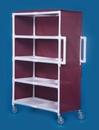 IPU Jumbo Linen Cart - Four Shelves