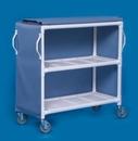 IPU 2 Shelf Linen Cart - 46