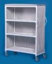 IPU 3 Shelf Linen Cart - 46