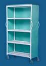 IPU 4 Shelf Linen Cart - 46