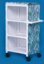 IPU 3 Shelf Cart With Cover - 26
