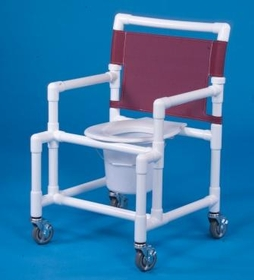 IPU Shower Chair Commode                                       350# Capacity