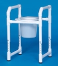 IPU Toilet Safety Frame W/Pail