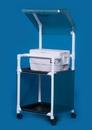 IPU Standard Line Ice Cart W/Canopy - 36 Qt Cooler