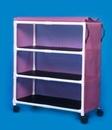 IPU Standard Line Linen Cart - Three Shelves - 45