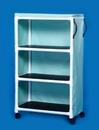 IPU Standard Line Linen Cart - Three Shelves - 36