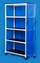 IPU Standard Line Linen Cart - Four Shelves - 45