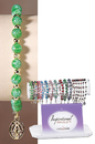 Sacred Traditions KT210 Green Flower Bead Bracelet Refill