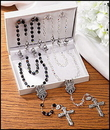 Milagros LS436 Wedding Rosaries Gift Set