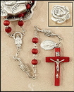 Milagros ND342 Rose Petal Rosary