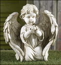 Gifts of Faith PA037 Angel Holding Dove Garden Figurine