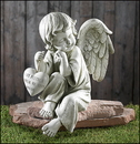 Gifts of Faith PA042 Memorial Angel Garden Figurine