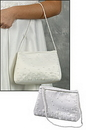 Milagros PS992 First Communion Beaded Purse
