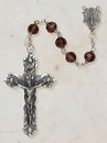 Christian Brands SO28AM35D Amethyst Vienna Collection Rosary