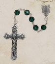 Christian Brands SO28EM35D Emerald Vienna Collection Rosary