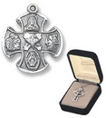 Creed Jewelry SO444 Four Way Medal