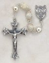 Christian Brands SO80MPIV20 Italian Handcrafted Pearl Rosary