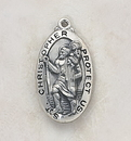 Christian Brands SO8647 St. Christopher Medal