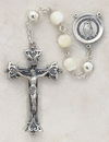 Christian Brands SO8MPIV20 Italian Handcrafted Pearl Rosary