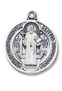 Creed Jewelry SO9725 St. Benedict Medal