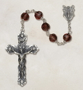 Christian Brands SP28AM35 Amethyst Vienna Collection Rosary