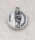 Creed SS727-5 Sterling Patron Saint Bartholomew Medal
