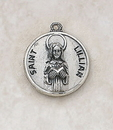 Creed SS729-34 Sterling Patron Saint Lillian Medal