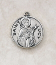 Creed SS729-36 Sterling Patron Saint Lucy Medal