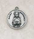 Creed SS729-39 Sterling Patron Saint Margaret Medal