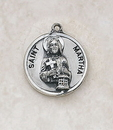 Creed SS729-40 Sterling Patron Saint Martha Medal