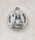 Creed SS729-43 Sterling Patron Saint Monica Medal