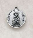 Creed SS729-46 Sterling Patron Saint Regina Medal