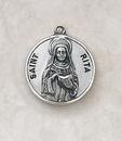 Creed SS729-47 Sterling Patron Saint Rita Medal