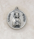 Creed SS729-48 Sterling Patron Saint Rose Medal