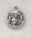 Creed SS729-49 Sterling Patron Saint Susanna Medal