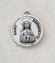 Creed SS729-7 Sterling Patron Saint Bernadette Medal
