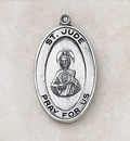 Creed SS927-57 Sterling St. Jude Patron Saint Medal