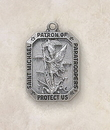 Creed SS9944 Sterling St. Michael Patron Saint (Paratroopers) Medal