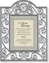 Heartfelt TC816 A Marriage Blessing Matthew 19:5-6 Table Clock