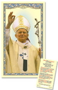 Christian Brands TS053 Blessed John Paul II Laminated Holy Card