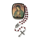 Christian Brands VC798 Our Lady of Guadalupe Rose Petal Rosary