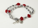 Christian Brands WC648 Confirmation Crystal Bracelet with Dangles