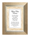 Bless This Home (1 Chronicles 17:27) Meaningful Moments Frame