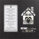 Glowing Treasures- Home Where the Heart Is- Frame/Lightbox