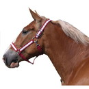 Intrepid International Poly Draft Horse Halter with Overlay